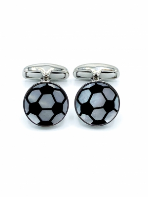 MEN CUFFLINK FOOTBALL logo