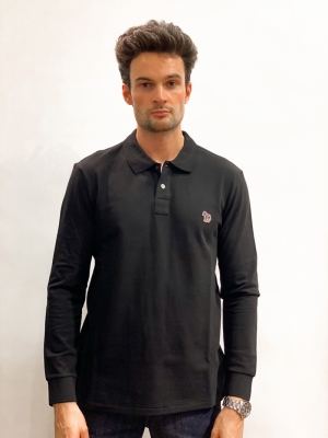 Polo Shirt LS logo